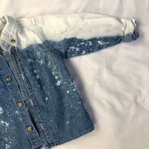 Other - Custom distressed button up